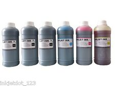 6x500ml Universal refill ink for HP Canon Lexmark Brother Dell 3BK+3Colors