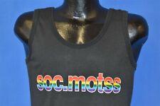 vtg 80s SOC.MOTSS GAY LGBTQ USENET GROUP RAINBOW PRIDE TANK TOP NERD t-shirt M