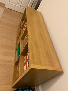 Ikea Kallax Shelving Unit Oak