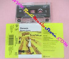 MC GENESIS Nursery cryme 1971 VIRGIN CHCMC 22 PETER GABRIEL no cd lp vhs dvd