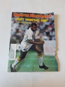 Pele's Triumphant Debut - Sports illustrated d 6/23/1975