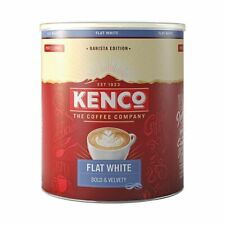 Kenco Flat White Instant Coffee Powder 1kg