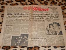 OUEST-FRANCE - Edition Manche-Sud - N° 1258 - Mercredi 27 Octobre 1948
