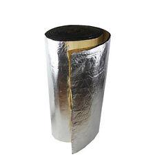 20cm x 100cm Car Door Floor Cover Heat Insulation Sound Deadener Aluminum Foil