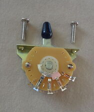 5 WAY LEVER BLADE SWITCH US RETRO STRAT STYLE by MIGHTY MITE for Electric Guitar