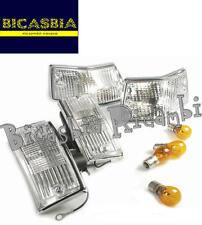 2360 - FRECCE BIANCHE ANTERIORI E POSTERIORI VESPA 125 150 200 PX A DISCO - T5