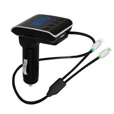 TRASMETTITORE MODULATORE FREQUENZE FM INGRESSO SD USB LETTORE MP3 PER AUTO Q10