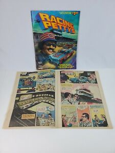 Racing Petty's Comic Book Magazine Autographed by Richard Petty on Cover
