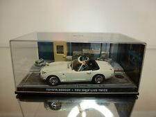 TOYOTA 2000GT - JAMES BOND 007 - YOU ONLY LIVE TWICE - 1:43 - EXCELLENT IN BOX