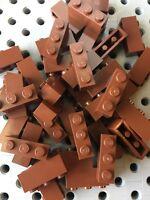 Lego Brown 1x3 Bricks Blacks Building 1 x 3 New Lot Of 48pcs