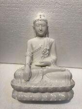 Porcelain Thai Buddha Statue.