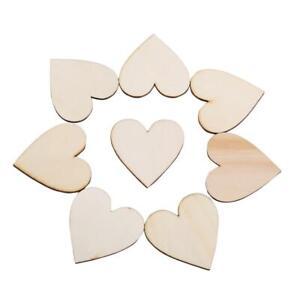 Embellissement En Bois En Forme De Coeur D'amour Pour L'artisanat D'art De
