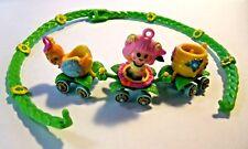 "Vintage Hasbro Charmkins Jewelry ""Honey Bee Train Necklace w/Sweet Bea* MINT!"