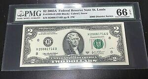$2 Fr1938-H 2003A FRN BEP 2008 DISTRICT SERIES & BIRTH YEAR NOTE .99c START