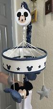 Disney Mickey Mouse Hello World Star/Icon Nursery Crib Musical Mobile