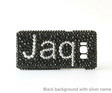 Customized name phone cover, bling your name on phone case for iPhone Samsung