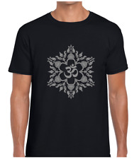 Yoga Namaste Mandala mens camiseta Yin Yang Lotus hindú budismo Diseño de Moda