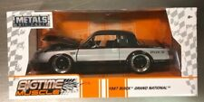 JADA BIGTIME MUSCLE 1987 BUICK GRAND NATIONAL 1:24 SCALE METAL BLACK / SILVER