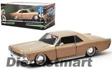 Maisto 1:26 1966 Lincoln Continental Classics Gold 32531GLD Diecast Model Car