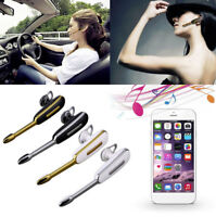 ✓ OREILLETTE BLUETOOTH 4.1 KIT MAIN LIBRE SANS FIL VOITURE SPORT IPHONE SAMSUNG