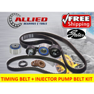 TIMING BELT KIT + INJECTOR BELT FOR FORD TERRITORY SZ 2WD 4WD 276DT 2.7L DOHC