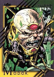 M.O.D.O.K. / 2015 Marvel Fleer Retro (Upper Deck) BASE Trading Card #33