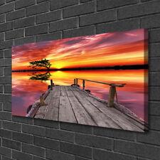 Canvas print Wall art on 100x50 Image Picture Bridge Architecture