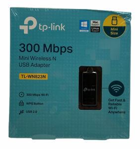 TP-Link Mini Wireless N USB Adapter 300Mbps TL-WN823N Sealed NEW