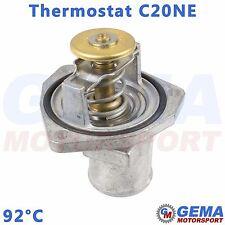 Thermostat 92°C +Dichtung +Gehäuse C20NE 2.0 Ascona Astra F Calibra Kadett Omega