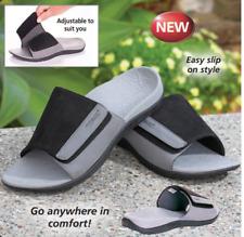 FOOT BIO-TEC Men Orthotic Sandals ——Sam Black— Adjustable (10% off )