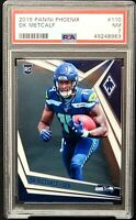 2019 Phoenix RC Seattle Seahawks DK METCALF Rookie Card PSA 7 - Low Pop 3
