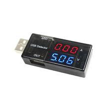Digital Micro USB Amp Volt Meter Charger Tester current detector voltage output