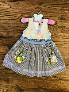 Matilda Jane (It's a Wonderful Parade) Bake Sale Top Size 4 EUC