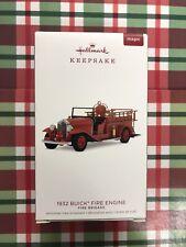 HALLMARK 2018 1932 BUICK FIRE ENGINE ORNAMENT NEW MAGIC  FIRE BRIGADE