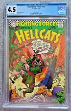 Our Fighting Forces #107 CGC graded 4.5 VG+  1967 DC Silver Age 12 cent DC comic