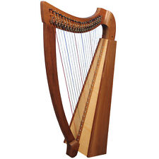 22 Saiten Trinity Walnuss Harfe, 22 Strings Celtic Irish Harp,  Irish lever Harp