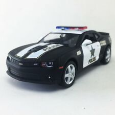 "New 5"" Kinsmart 2014 Chevrolet Camaro Police Car 1:38 Chevy Cop Diecast Model"