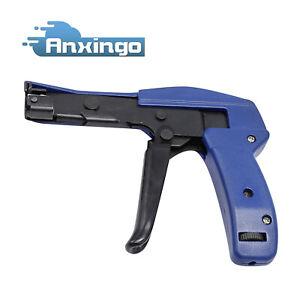 Industrial Zip Tie Gun Tension Fastening Tool 1 Motion Tie Cut Off Cable Ties US