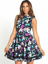 Collar Special Occasion Floral Mini Dresses for Women