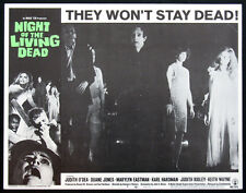 NIGHT OF THE LIVING DEAD GEORGE ROMERO ZOMBIE HORROR 1968 LOBBY CARD #7