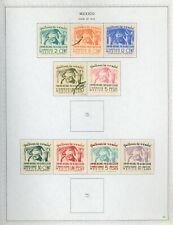 MEXICO Minkus Specialized Album Page Lot #48 - SEE SCAN - $$$