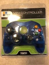 TTX Tech - Xbox - Controller - Wired - Controller S - Clear Blue Mini