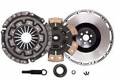 QSC Stage 3 Ceramic Clutch Kit Flywheel Kit Fits Nissan RB20DET RB25DET Skyline