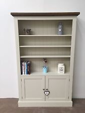 New Solid Pine Cupboard Base Bookcase / Larder Unit
