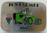 Vintage 1981 Toy Farmer Belt Buckle Limited Edition 1 of 1000 Farm Tractor