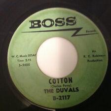 DUVALS - COTTON / WHAT AM I -BOSS B-2117. VG+