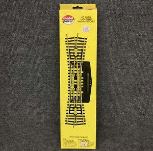 Model Power HO Right Hand Remote Curved Switch 181R  *New Old Stock*