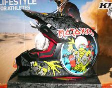 O 'Neal moto xxx world tour Casque 2016 Noir Motocross Enduro skull honda suzuki