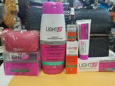 LIGHT UP Dark Spots Correcting+ Whitening Beauty LOTION ÷ SERUM+SOAP+TUBE CREAM.