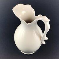 Royal Haegar Pottery USA Ceramic Pitcher Flower Vase 64oz
